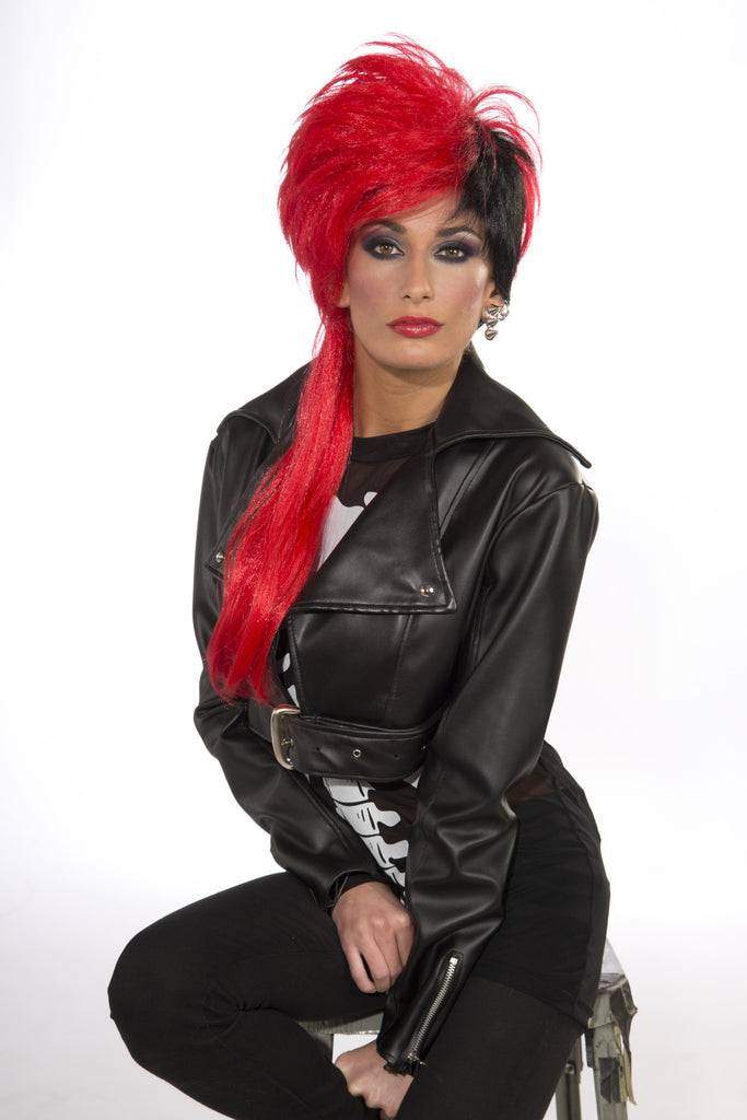 Wig-Trouble Maker-Black/Red