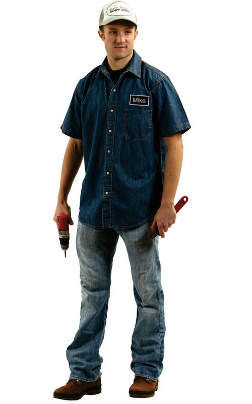 Mens Mike the Mechanic Costume