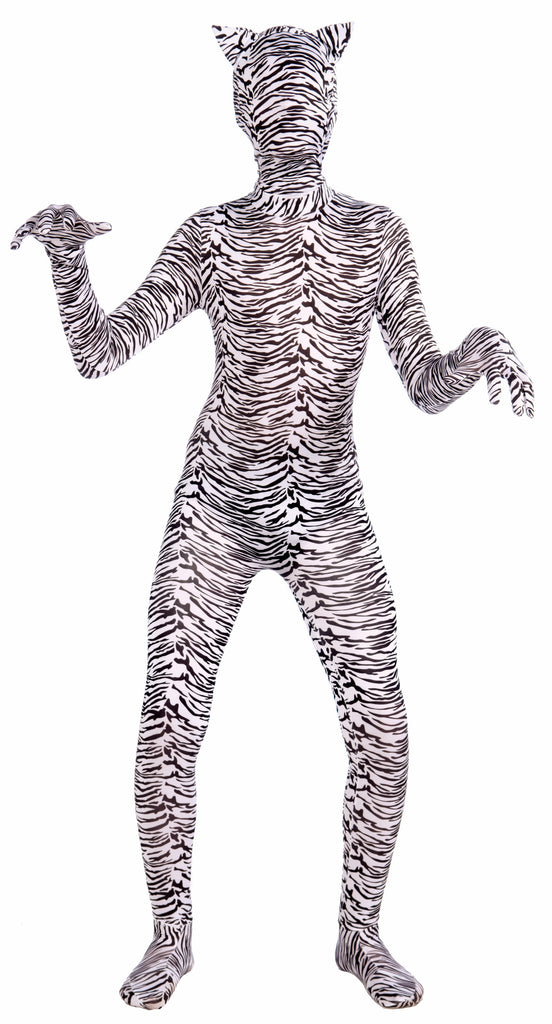 Costume-Disap.Man-White Tiger-Teen