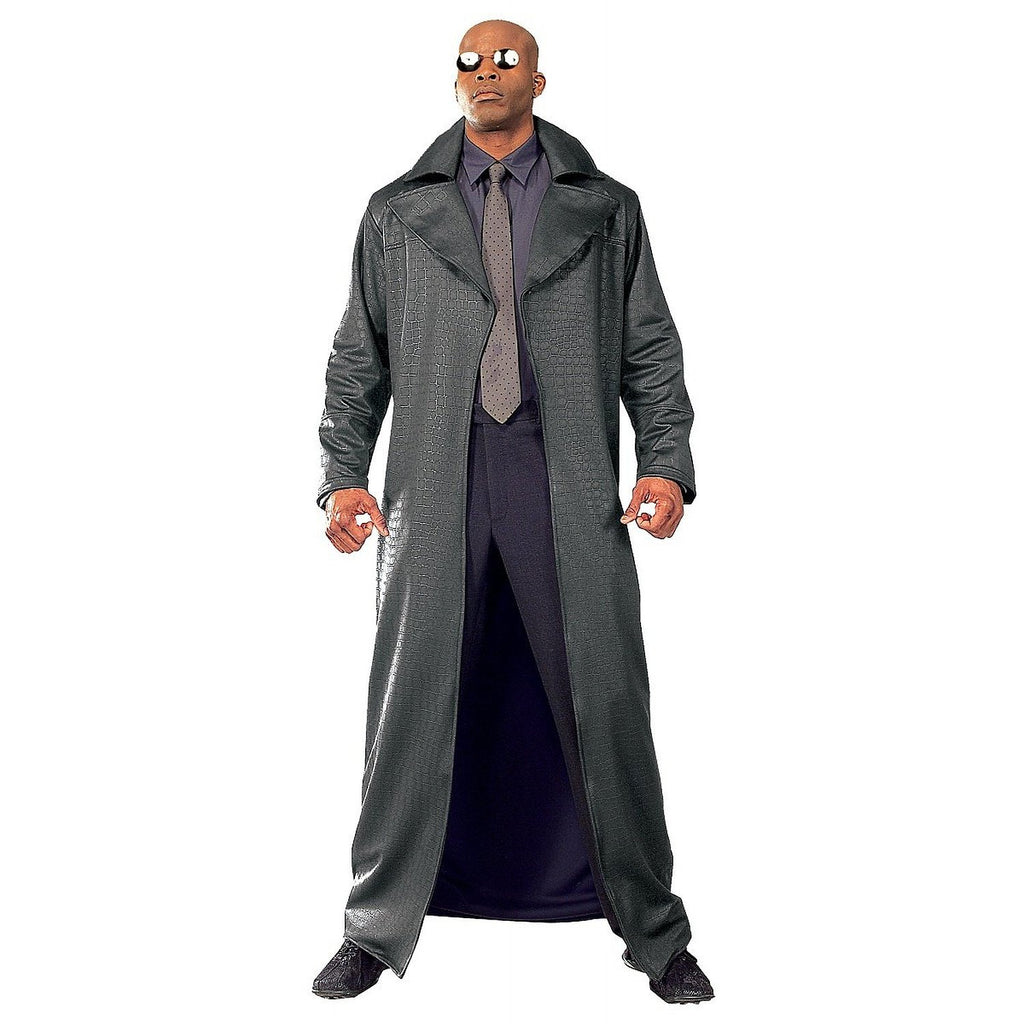 Mens The Matrix Super Deluxe Morpheus Costume
