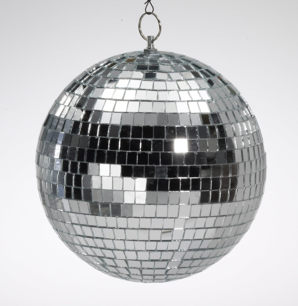 "Mirror Ball 12"" With Color Box"