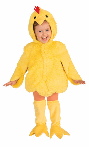 Girls Lovable Chicken Costume