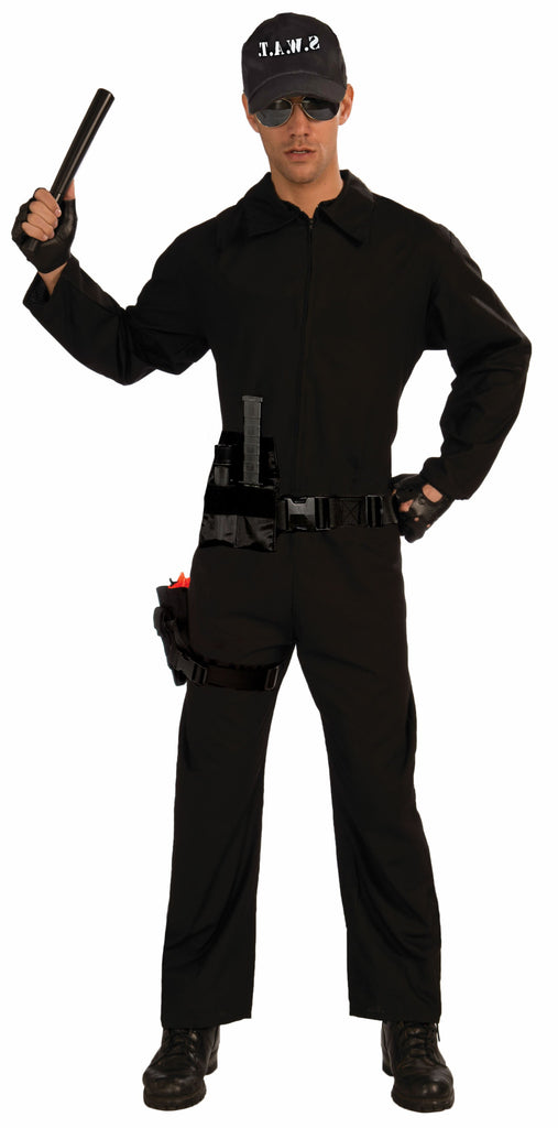 Costume - S.W.A.T. Jumpsuit - Black