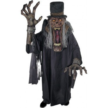 Adults Shady Slim Creature Reacher Costume