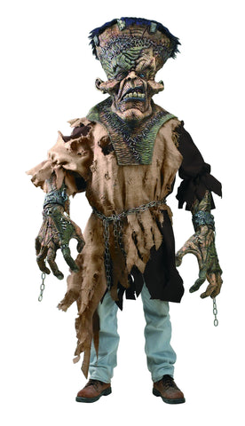 Mens Freaky Monster Creature Reacher Costume