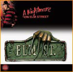 Nightmare on Elm Street Sign Decoration