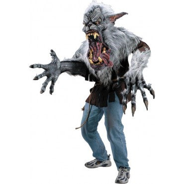 Deluxe Creature Reacher Midnight Howler Werewolf Costume