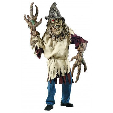 Mens Creatire Reacher Scarecrow Costume