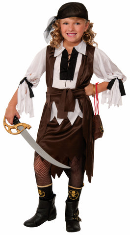 Girls Pirate Sweetie Costume