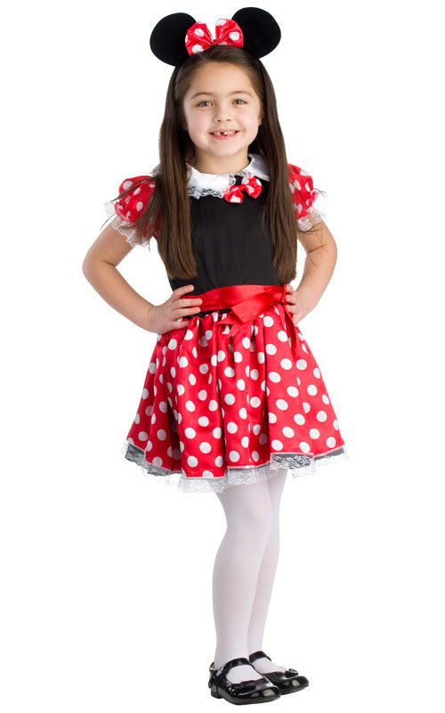 Girls Charming Miss Mouse Costume