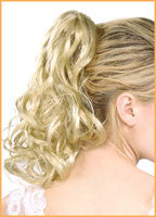 Blonde Pony Tail Hair Extension