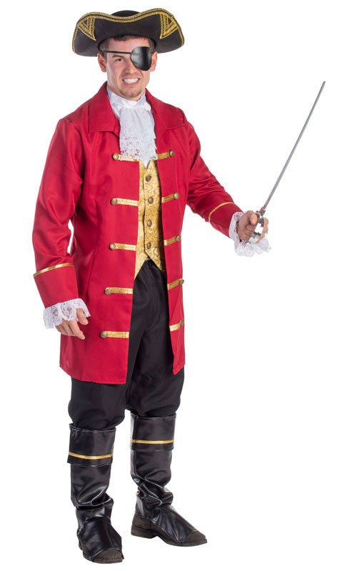 Mens Elite Pirate Costume
