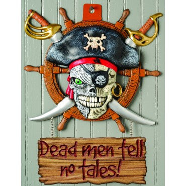Dead Men Pirate Sign