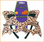 Leopard Eyemask and Ears Headband
