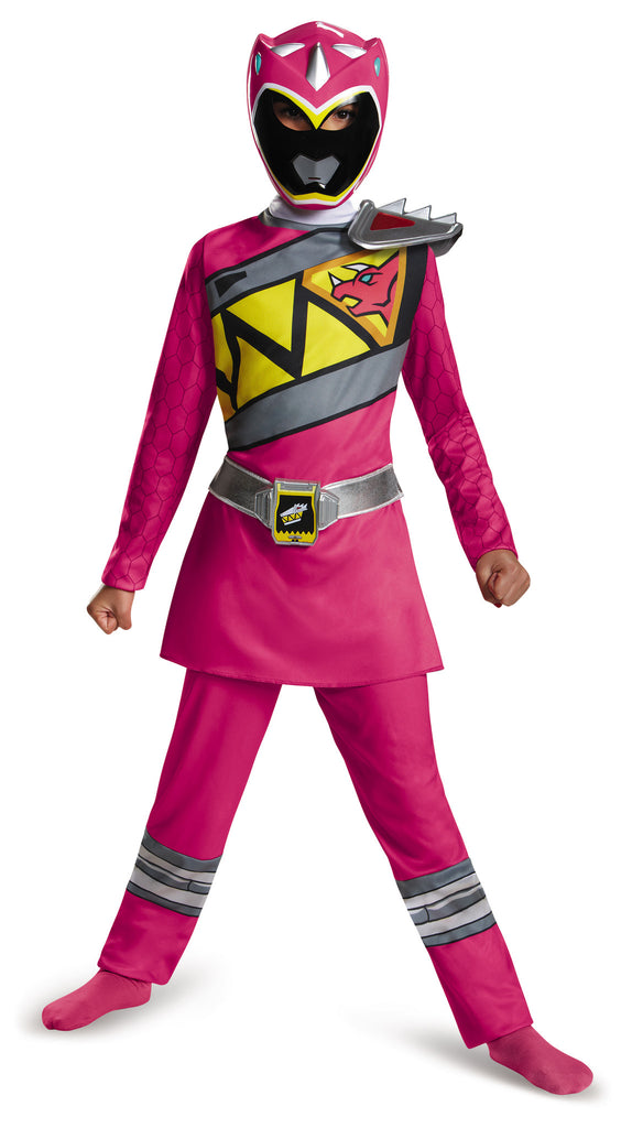 Girls Power Rangers Pink Ranger Dino Costume