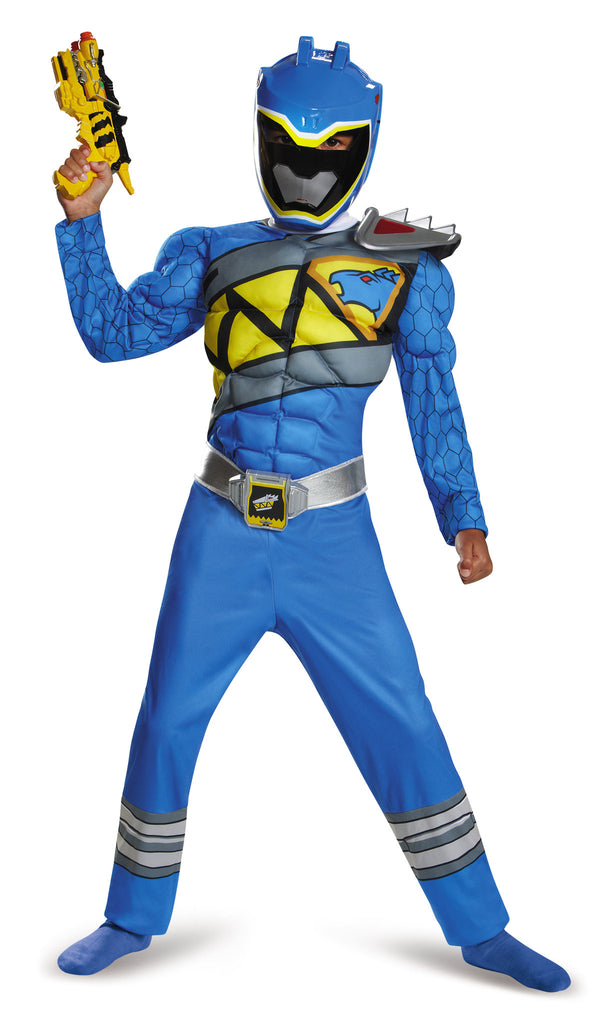 Boys Power Ranger Blue Ranger Costume