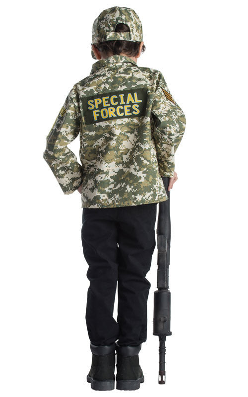 Boys Army Dress Up Set