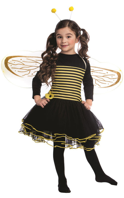 Girls Bumblebee Costume