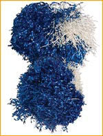 Dallas Cowboy Cheerleader Pom Poms