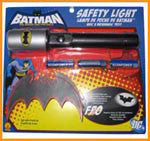 Batman Safety Light and Batarang Set