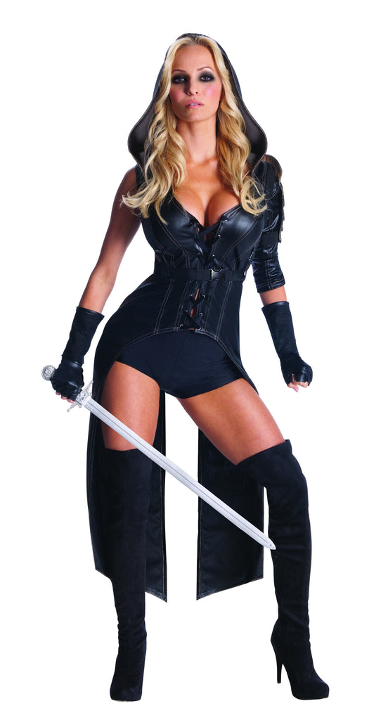 Womens Sweet Pea Fight Suit Costume