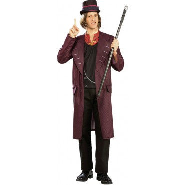 Mens Charlie and the Chocolate Factory Willy Wonka Costume