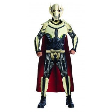 Mens Star Wars Deluxe General Grievous Costume
