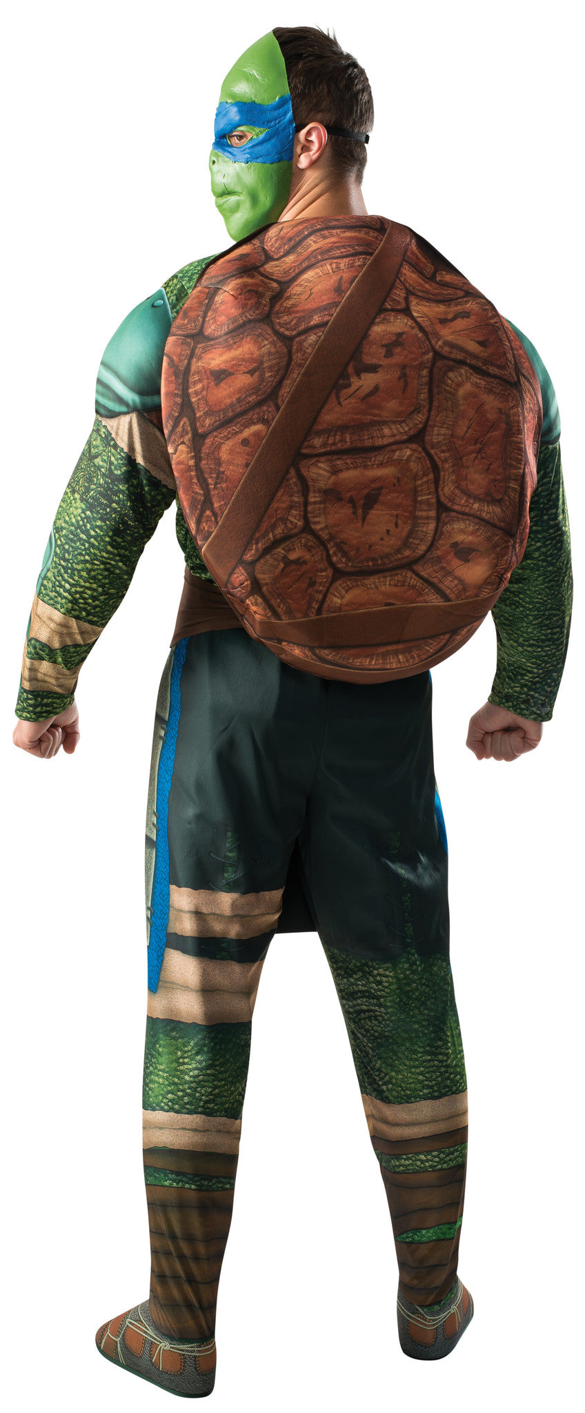 Mens Ninja Turtles Deluxe Leonardo Costume