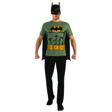 Mens Classic Batman T-Shirt Costume