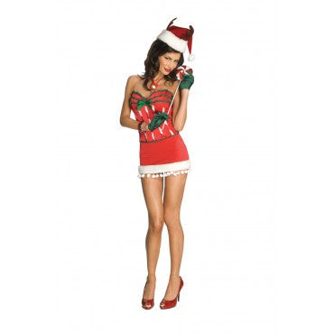 Womens Santas Secret Helper Costume