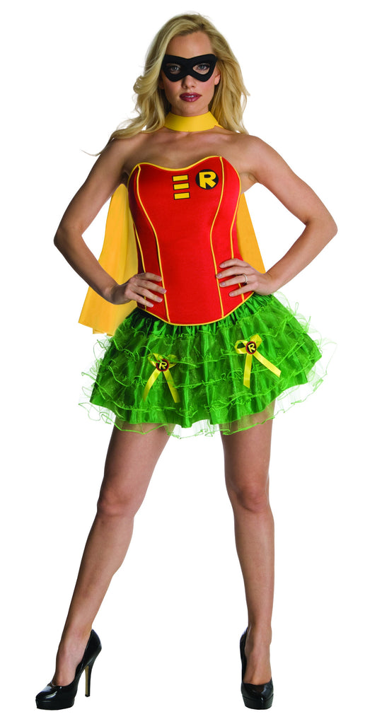Womens Batman Robin Corset Costume