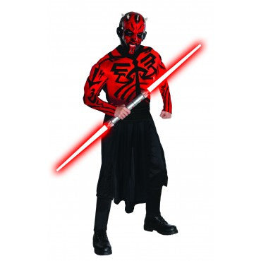 Mens Star Wars Deluxe Darth Maul Costume