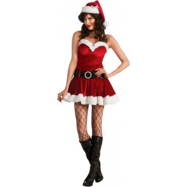 Womens Miss Santa Costume