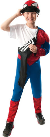 Boys 2-in-1 Reversible Deluxe Ultimate Spider-Man Costume