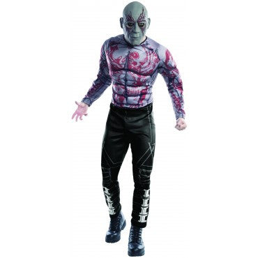Mens Guardians of the Galaxy Drax the Destroyer Costume