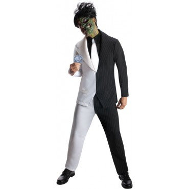 Mens Batman Two Face Costume