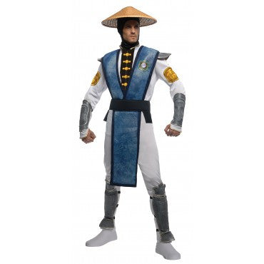 Mens Mortal Kombat Deluxe Raiden Costume