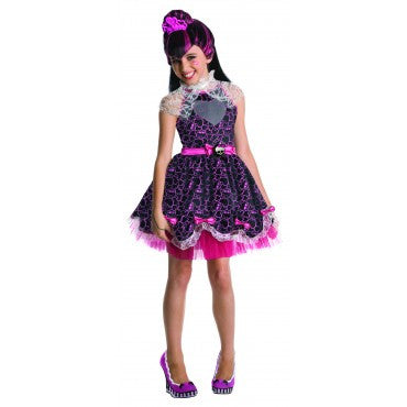 "Girls Monster High Draculaura ""Sweet 1600"" Costume"