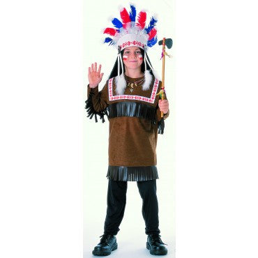 Boys Cherokee Warrior Costume