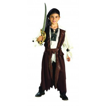 Boys Caribbean Pirate Costume