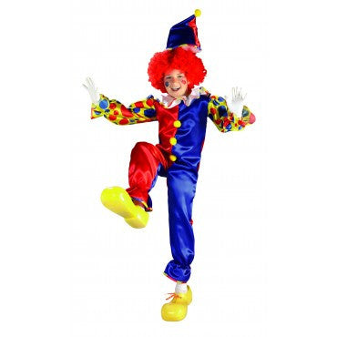 Kids Bubbles the Clown Costume