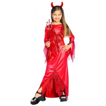Girls Devil Diva Costume