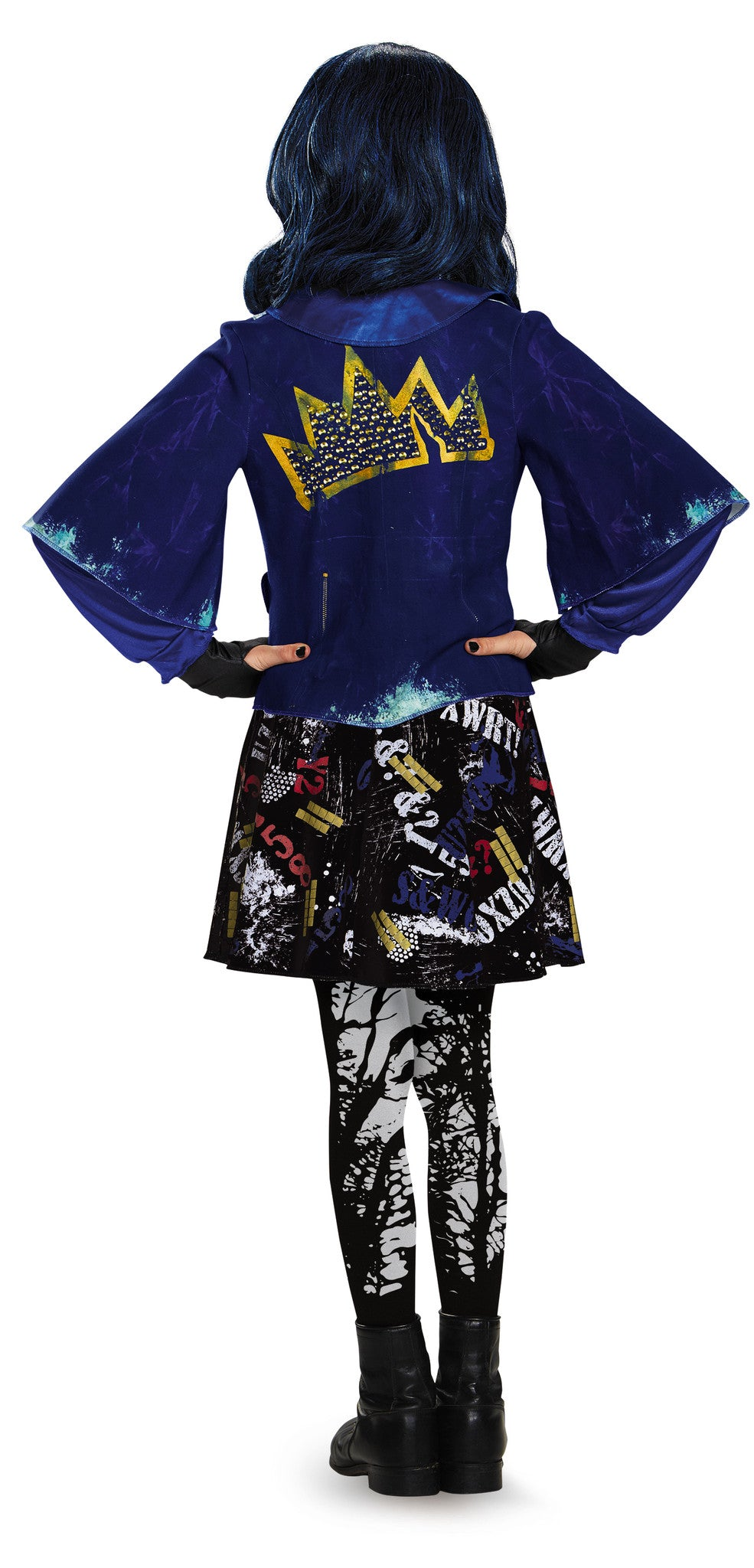 Girls The Descendants Deluxe Evie Costume