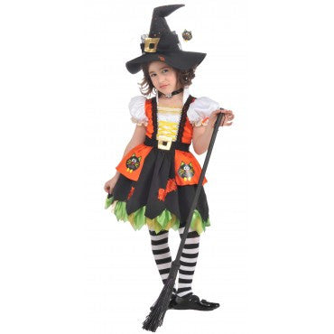Girls Kitty Witch Costume