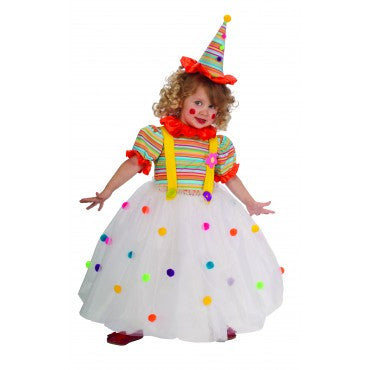 Girls Candy Clown Costume