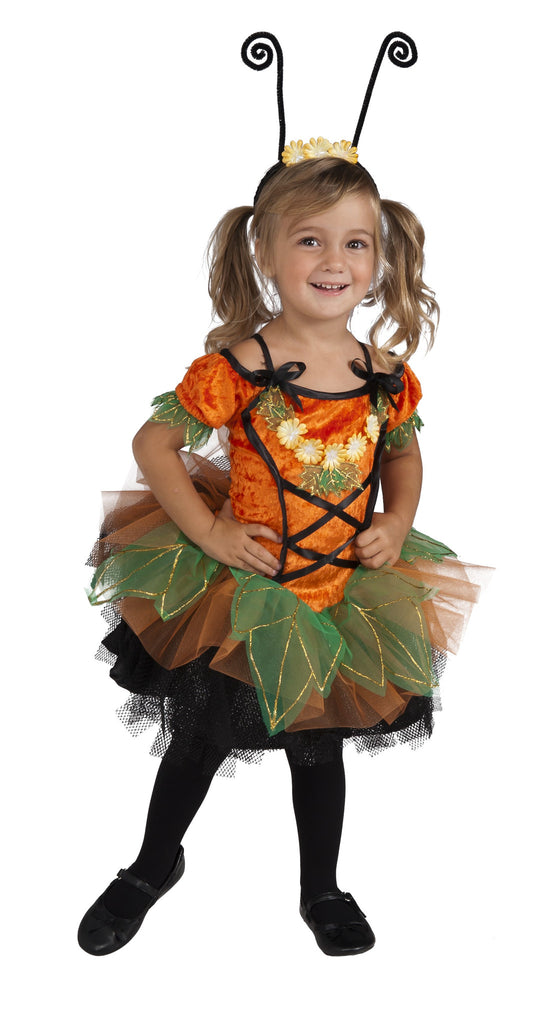 Toddlers Pumpkin Patch Pixie Costume
