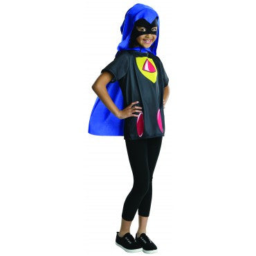 Girls Teen Titans Go Raven Costume Top