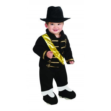 Infants Michael Jackson Military Romper
