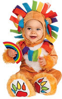 Infants Lucky Rainbow Lion Costume