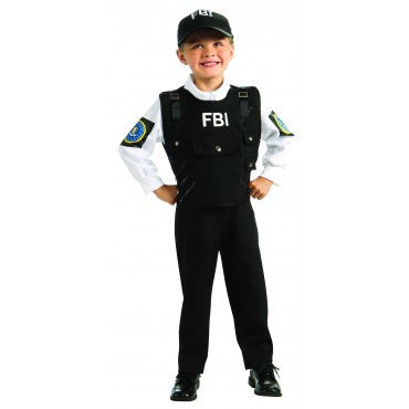 Boys FBI Agent Costume